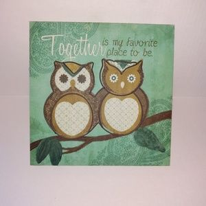Other - Owl wall decor